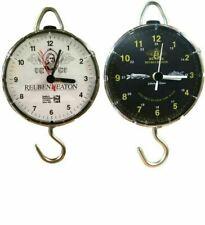 Brand New Reuben Heaton Specimen Hunter Time Scale Wall Clock (Black Face)