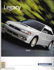 1999 99 Subaru Forester  original sales brochure MINT
