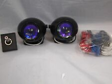 UNIVERSAL FIT PROJECTOR FOG LIGHTS HID KIT READY
