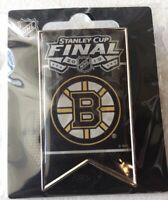 2019 BOSTON BRUINS PIN BANNER STYLE STANLEY CUP FINAL NHL HOCKEY