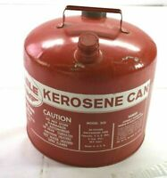 Vintage Eagle Kerosene Can 305 Red 26-Gauge Galvanized Steel 5 Gallon USA Made