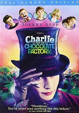 Charlie and the Chocolate Factory (Dvd, 2005, Full Frame) - Good