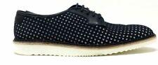 Swear London Mens Lou4 Oxford Shoe Black Perforated Neoprene 45 EU 12 US