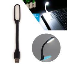 Portable 5V USB LED Light Bendable Lamp Electronic Gadgets For Notebook Black GA