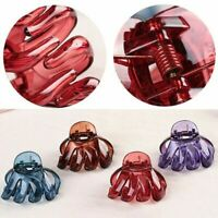 2x Women Fashion Hair Clips Octopus Claw Crab Clamp Barrette Hairpin Accessories