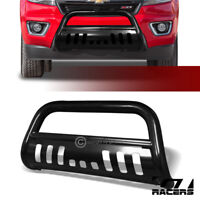 For 15-19 Chevy Colorado/GMC Canyon Blk Bull Bar Brush Bumper Grill Grille Guard