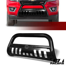 FOR 15-18 CHEVY COLORADO/GMC CANYON BLK BULL BAR BRUSH BUMPER GRILL GRILLE GUARD