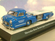 "PREMIUM CLASSIXX 1/43 1954 MERCEDES BENZ ""BLUE WONDER"" RACING CAR TRANSPORTER"