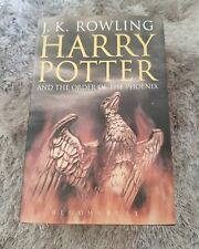 Harry Potter And The Order Of The Phoenix First Edition Adult Hardback book 1st