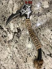 Kultovator By Tom Anderson Knives Axe Used Good Condition Fantasy Tomahawk Skull