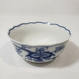 """4"""" ZWIEBELMUSTER Bohemia Blue Onion Rice Bowl Replacement"""