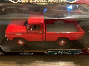 Road Signature Collection 1/18 1959 Ford F250 Pickup Diecast NIOB! EXCELLENT!