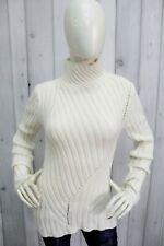 ARMANI JEANS Donna Taglia M Maglione Lana Sweater Pullover Maglietta Pull