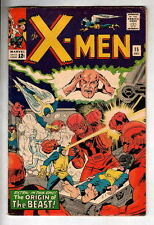 X-MEN #15 Origin The Beast 1965