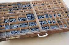 EUROPE 28p Bleischrift im Setzkasten Bleisatz Handsatz lead type Typographie