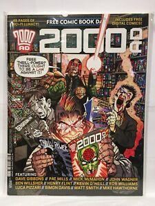 2000AD FCBD 2015 Nm- 1st Imprimé