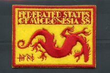 Micronesia 2012 MNH Year of Dragon 1v Embroidered Stamp Lunar New Year Stamps