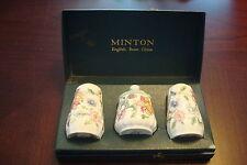 "MINTON  Condiment Set Pattern ""Haddon Hall"" pattern, in original box[a*4-2c]"