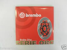BREMBO DISCO FRENO ANTERIORE SERIE ORO PIAGGIO ZIP FAST RIDER 50 93 94 95 96 97