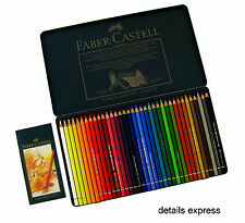 Faber Castell Polychromos Artists Pencils Set, 36 colours Tin - RRP £62.25