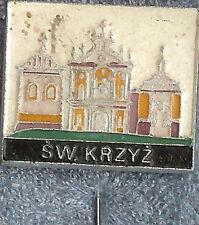 Sw Krzyz - Polish Hat Lapel Pin LP0805