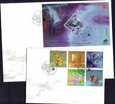 2012 Macau Zodiac --- Year of the Dragon 5v Stamps FDC + S/S FDC (1 Pair)