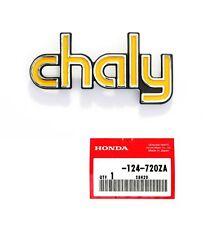 HONDA Chaly Rahmen Emblem Rechts ORIGINAL HONDA NEU !