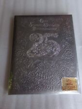 Vintage HALLMARK 25th Wedding ANNIVERSARY Memory Keepsake Album Book USA Gift