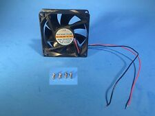 Kingmot DFS802512H Power Supply Replacement 2-Wire 80mm 12V DC Fan 8cm/Dell/PC