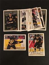 1995/96 Topps Vancouver Canucks Team Set 18 Cards