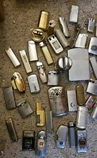 Vintage  Silver and Gold Lighters