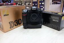 Nikon D D300 12.3MP Digital SLR Camera + MB-D10 Grip (34,584 Shots Taken)
