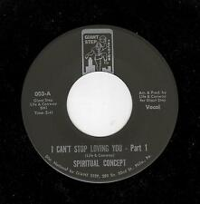 POPCORN/NORTHERN/MODERN SOUL-SPIRITUAL CONCEPT-I CAN'T STOP LOVING YOU PARTS 1 &