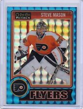 STEVE MASON Flyers 2014/15 O-Pee-Chee Platinum #46 Blue Cubes Parallel /65 SP