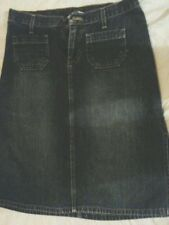 ABERCROMBIE & FITCH DENIM SKIRT SIZE 2