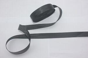 10 Meter  Of 25mm Wide SEAT BELT SAFETY STRAP WEBBING  BLACK  Color 1.1mm Trick
