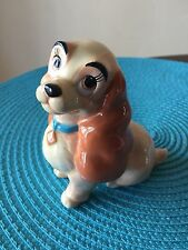 "Vintage Disney LADY AND THE TRAMP ""Lady"" Figurine Cocker Spaniel"