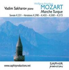 Mozart Sonate K. 331 Turkish March Vadim Sakharov SAPHIR Productions LVC 1