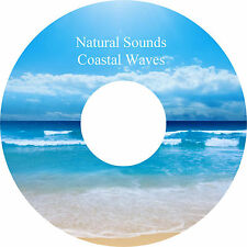 Natural Sounds Coastal Waves CD Pebble Beach Relaxation Deep Sleep Stress Relief