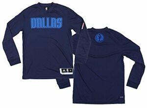 Adidas NBA Youth Dallas Mavericks Long Sleeve ClimaLite Shooter Tee