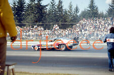 """1973 NHRA Ed """"The Ace"""" McCulloch - 35mm Drag Racing Slide"""
