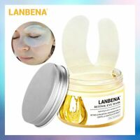 Comestics 50Pcs Retinol Eye Mask Lifting Firming Anti-Aging Eye Serum Skin Care