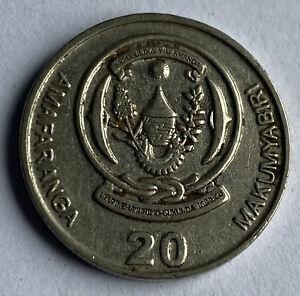 Rwanda 20 Amafaranga 2003 (KM#25)