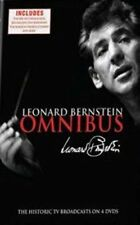 DVD NTSC 1 Leonard Bernstein Omnibus The HISTORIC TV Broadcasts 4 Disc