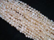 Freshwater Pearls Natural 4-6mm Irregular 35cm Strand DIY Jewellery FREE POSTAGE