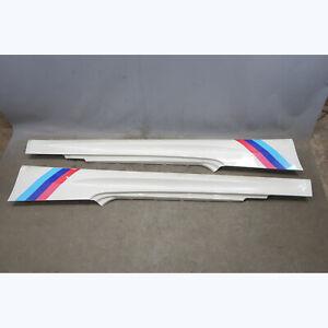 2008-2013 BMW E92 M3 Coupe Factory ///M Side Skirt Rocker Pair Alpine White OEM