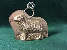 Tiny Early Standing Lamb Tin Chocolate Mold Mould ~ Anton Reiche, Dresden #16542