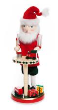 Home Accents 14-In High Santa Stop Here, Santa'S Work Shop Nutcracker