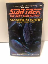 Star Trek The Next Generation, Maximum Warp , Book 2 Of 2, Dave Galanter, Greg B