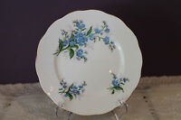 "ROYAL ALBERT BONE CHINA ENGLAND 6-1/4"" BREAD & BUTTER PLATE (s) - FORGET-ME-NOT"